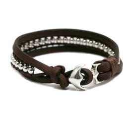 Takling® 4MM Ankerarmband mit Ankerschließe Silber by LeChatVIVI BERLIN