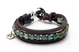Takling® Damen Anker Armband mit Moosachat by LeChatVIVI BERLIN®