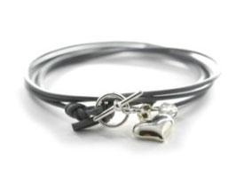 Damen Armband Mon Petit N°1 Grau von LeChatVIVI BERLIN®