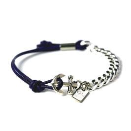 Ankerhaken Armband Marineblau by LeChatVIVI BERLIN®