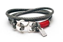 Ankerarmband SharkSkin Rot von LeChatVIVI BERLIN®