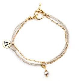 Filigranes Armband mit Perle N°1 by LeChatVIVI BERLIN®