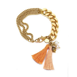 SHELLYS PEARL Armband N°2* ORANGE by LeChatVIVI BERLIN