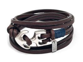 Anker Armband Seemannsgarn Blau - Hergestellt von LeChatVIVI Berlin®