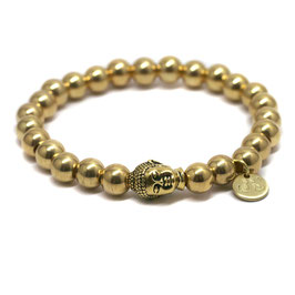 Buddha GOLD Armband N°1