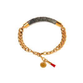 Lax Armband grau N°1 by LeChatVIVI BRLIN