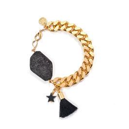 Wild Star N°1 Armband mit Stern und Quaste by LeChatVIVI BERLIN