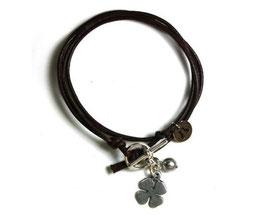 Mon Petit N°2 Braun von LeChatVIVI BERLIN® | Glücksbringer-Armband