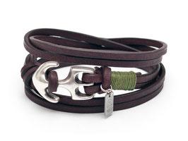 Seemannsgarn Ankerarmband N°3 Olivegrün by LeChatVIVI BERLIN®