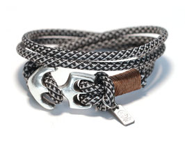 Anker Armband Pfeffer & Salz N°7 Wickelarmband