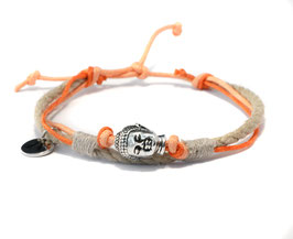 Buddha Armband OMMM Orange by LeChatVIVI BERLIN®
