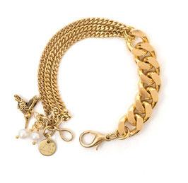 KOLIBRI Armband gold by LeChatVIVI BERLIN
