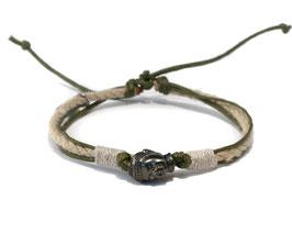Buddha Armband  OMMM Olivgrün by LeChatVIVI BERLIN®