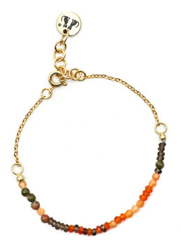 Petit Pearl Armband N°1 Safari