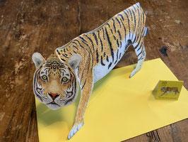 """3 D Karte """"Tiger"""""""