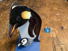 """3 D Karte """"Pinguin"""""""