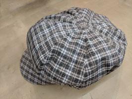 Hut & Robe Ballonmütze handgefertigt in Deutschland aus 80%Leinen, 20% Baumwolle. Futter 88% Leinen12% Polaymid