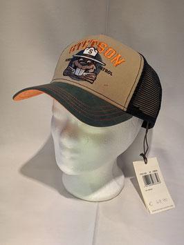 Stetson Baseball Cap, one size verstellbar, aus reiner Baumwolle. Netz Nylon.