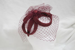 Hut und Robe Fascinator Stroh