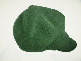 Hut und Robe Ballonmütze 100% Wolle grün