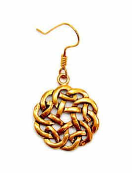 Pera Paar Ohrringe keltischer Knoten Bronze