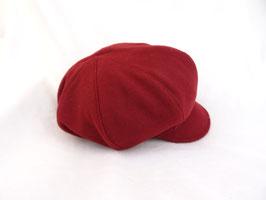 Hut und Robe Ballonmütze  Weinrot Wolle - Fleece
