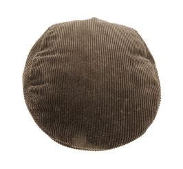 Wegener Kappe aus 100% Baumwolle, Cord Braun