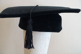 Hut & Robe Doktorhut - GraduationHat - Baumwolle