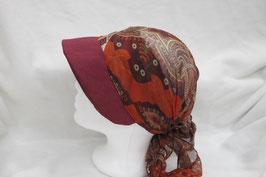 Hut und Robe Visor Leinen Seide