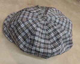 Hut&Robe Ballonmütze handgefertigt in Deutschland aus 80%Leinen, 20% Baumwolle. Futter 88% Leinen12% Polaymid