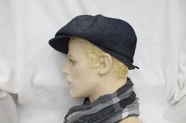 Hut & Robe Ballonmütze aus Jeansstoff, 70% Baumwolle, 30% Leinen
