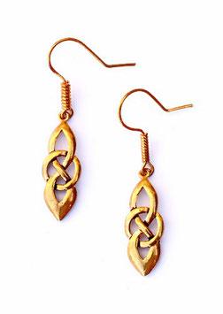Pera Paar Ohrringe Bronze