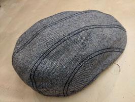 Bullani Kappe schmal mit Ziersteppung  - Handgefertigt in Deutschland 100% Baumwolle - Futter 100% Baumwolle
