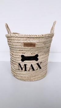 Wohnkorb für MAX mit Knochen