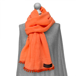 BOMMEL-SCHAL in ORANGE | ORANGE