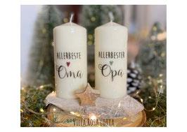 Bluke045 Kerze ⋆ Beste Oma ⋆