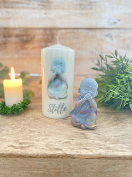 Kerzen Mönch Stille 15/7 cm