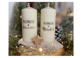 Bluke53 Kerze ⋆ Beste Schwester ⋆