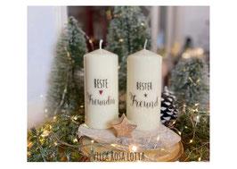 Bluke056 Kerze ⋆ Beste Freundin ⋆