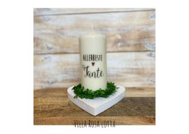 Bluke049 Kerze ⋆ Beste Tante⋆