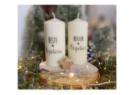Bluke064 Kerze ⋆ Beste Erzieherin⋆