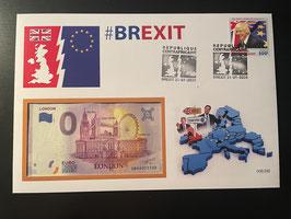 Official Euro Souvenir Cover - Brexit