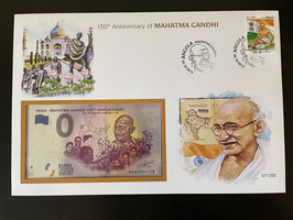 Official Euro Souvenir Cover - Mahatma Gandhi