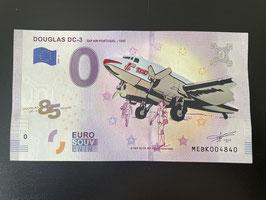 85 YEARS DOUGLAS DC-3 TAP AIR PORTUGAL em foil