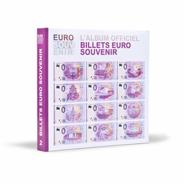 "Printed album for "" Euro Souvenir Notes "" vol. 2 (France / 2016) WITHOUT specimen"