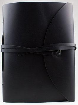 Notizbuch, Tagebuch, Kladde - schwarz, drei verschiedene Größen, 0093a-c