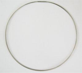 zierlicher Halsreif aus Edelstahl / Drahtcollier (mit 3 Strängen), verschiedene Längen