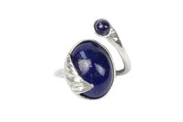 Ring Fingerring aus Silber 925 Lapis Lazuli 521S