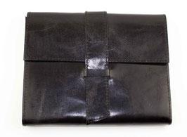 Notizbuch, Tagebuch, Kladde - Design Ziernaht, schwarz, 0097