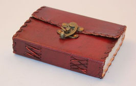 Lederbuch, Notizbuch, Tagebuch, Flechtrand, 0059